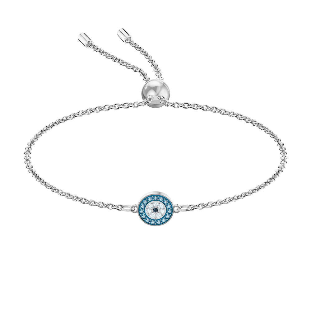 Luckily Bracelet, Multi-colored, Rhodium plating