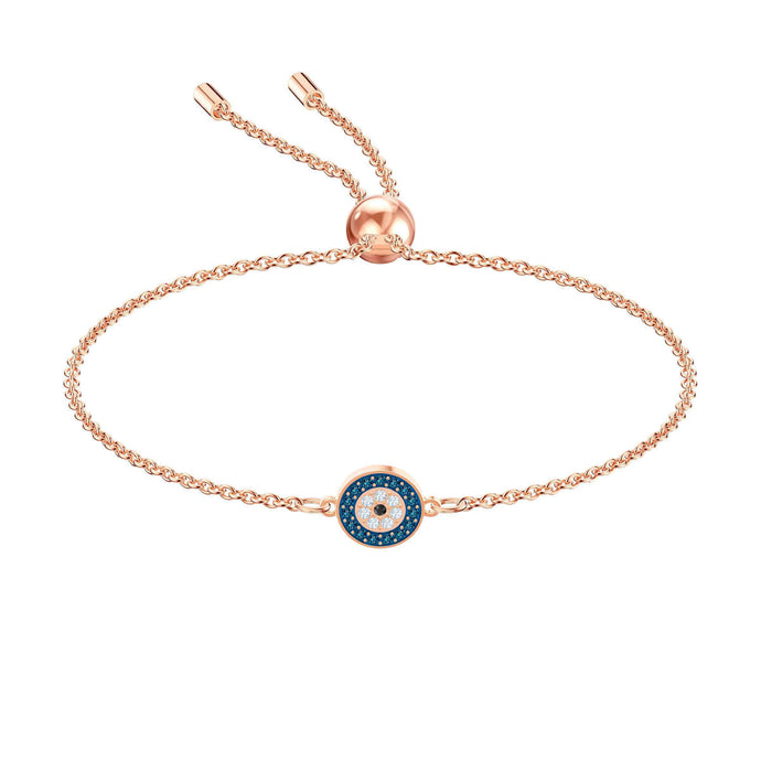 Swarovski Luckily Bracelet, Multi-colored, Rose gold plating