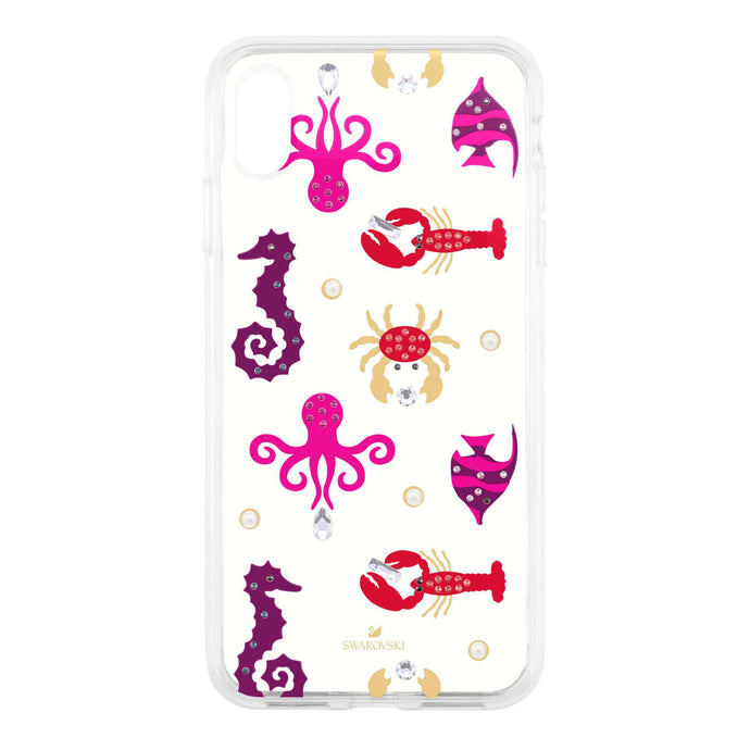 Sea Life Smartphone case with integrated Bumper, iPhone® XS Max, Transparent