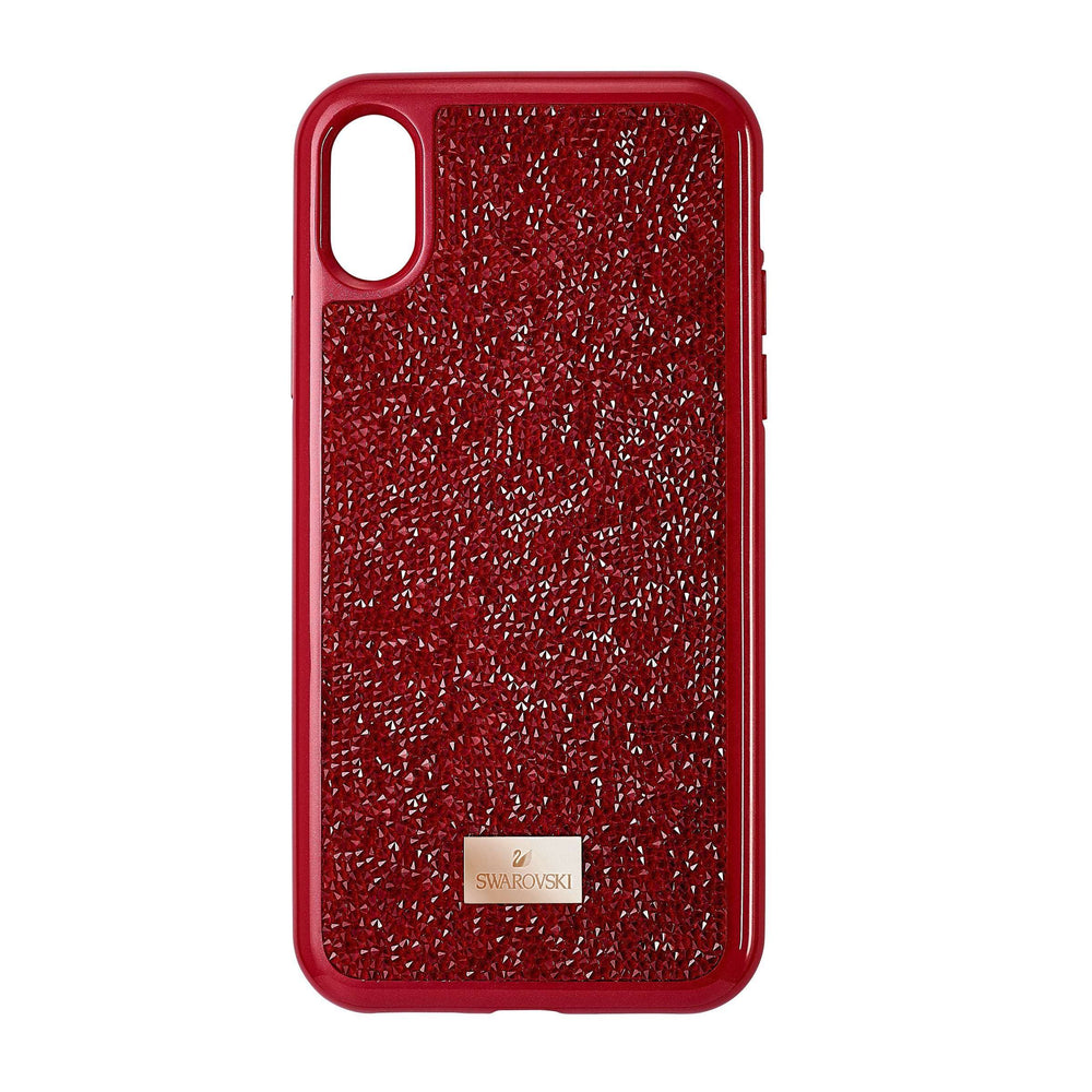 Swarovski Glam Rock Smartphone Case, iPhone® X/XS, Red