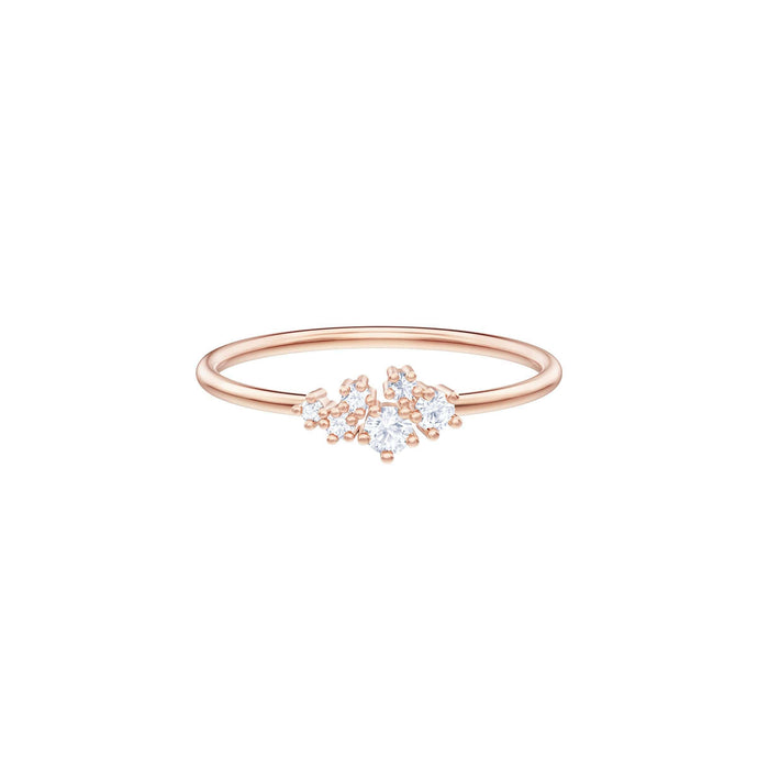 Swarovski Penélope Cruz Moonsun Ring, White, Rose gold plating