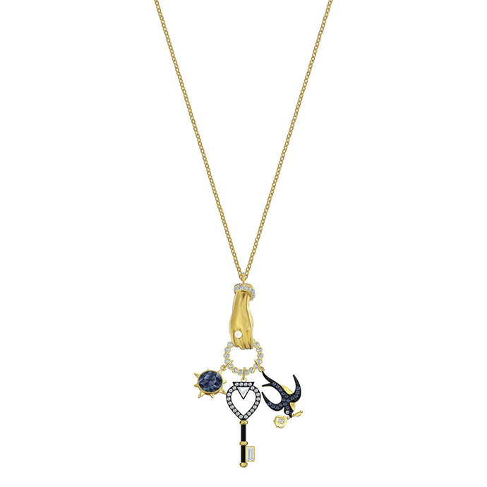 Swarovski Tarot Magic Charm Pendant, Multi-colored, Gold-tone plated