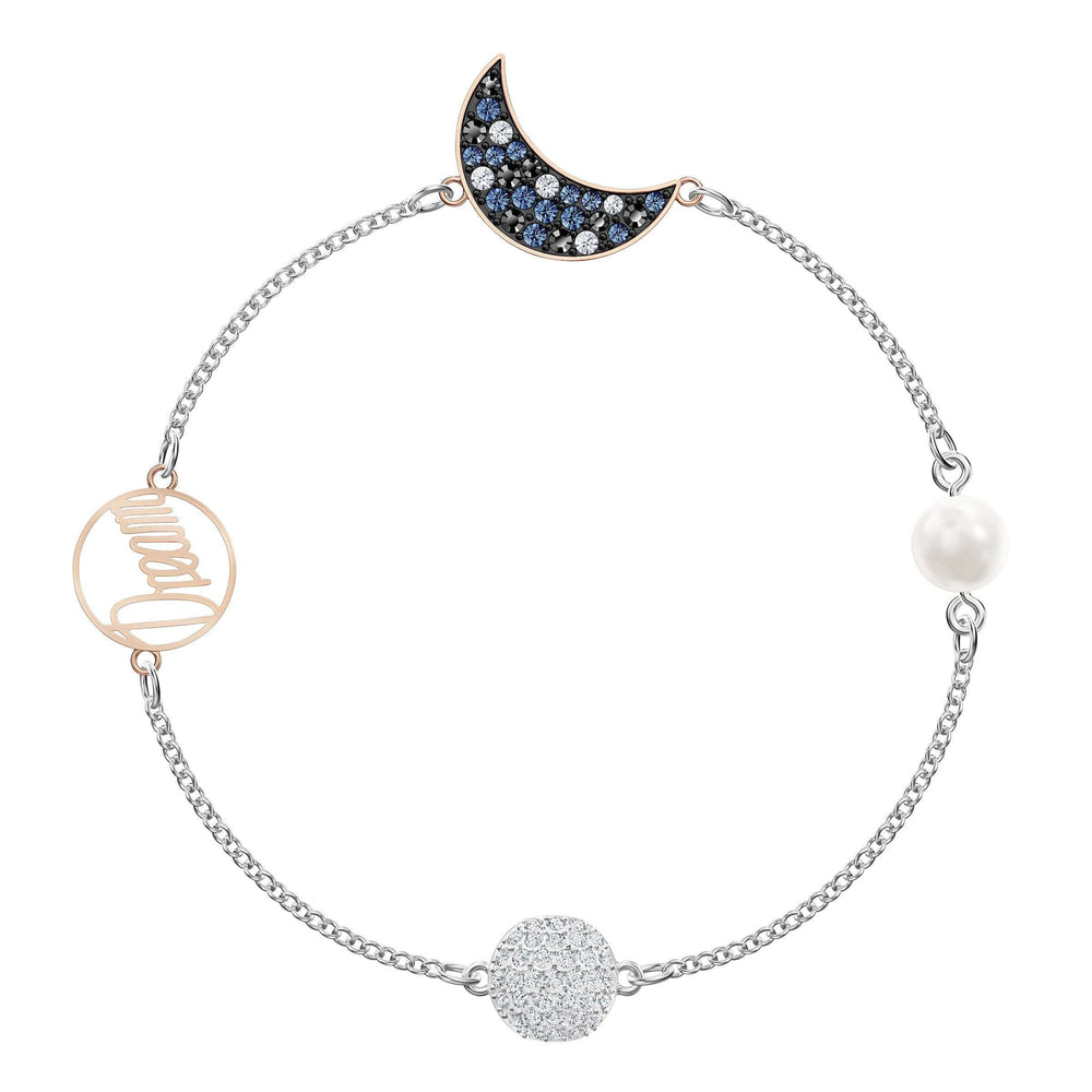 Swarovski Swarovski Remix Collection Moon Strand, Multi-colored, Mixed metal finish
