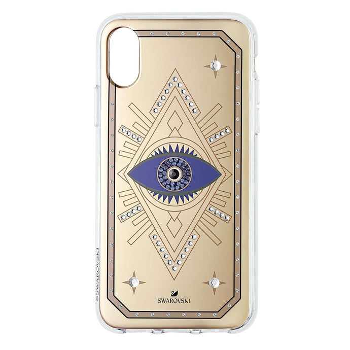 Swarovski Tarot Eye Smartphone Case, iPhone® X/XS, Pink Gold