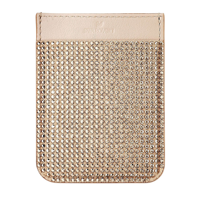 Swarovski Smartphone sticker pocket, Rose Gold