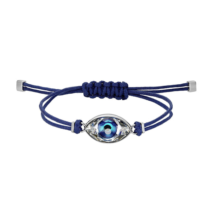 Swarovski Swarovski Power Collection Evil Eye Bracelet, Blue, Stainless steel