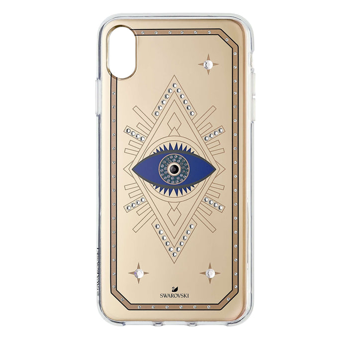 Swarovski Tarot Eye Smartphone Case, iPhone® XS Max, Pink Gold