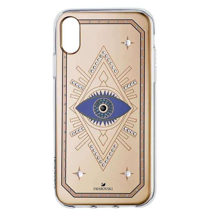 Swarovski Tarot Eye Smartphone Case, iPhone® XR, Pink Gold