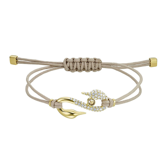 Swarovski Swarovski Power Collection Bracelet, Brown, Gold-tone plated