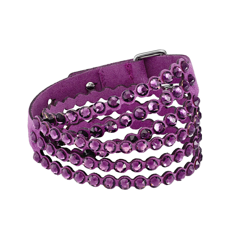 Swarovski Swarovski Power Collection Bracelet, Fuchsia