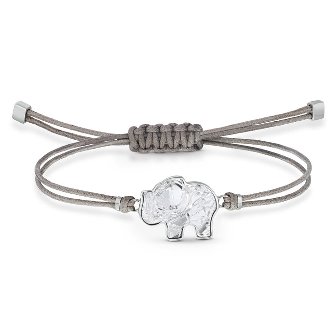 Swarovski Power Collection Elephant Bracelet, Gray, Stainless steel
