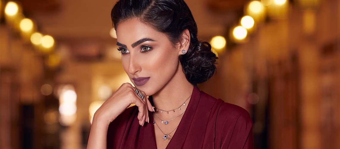 EMBELLISH YOUR RAMADAN WARDROBE  WITH SWAROVSKI
