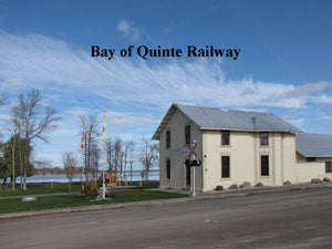 Bay of Quinte Railway station at Beaver Lake.