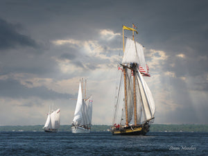 Tall ships in Brockville.