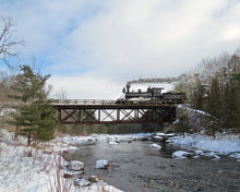 K&P Railway over the Madawaska River at Calabogie.