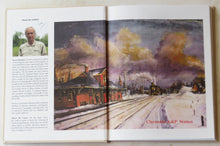 Inside cover showing the K&P Railway at Clarendon station.