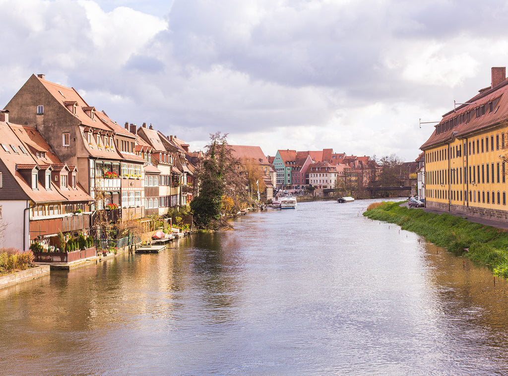 Germany photography, bamberg photograph, european architecture, fine art photography, travel home decor, travel photography, reginitz river
