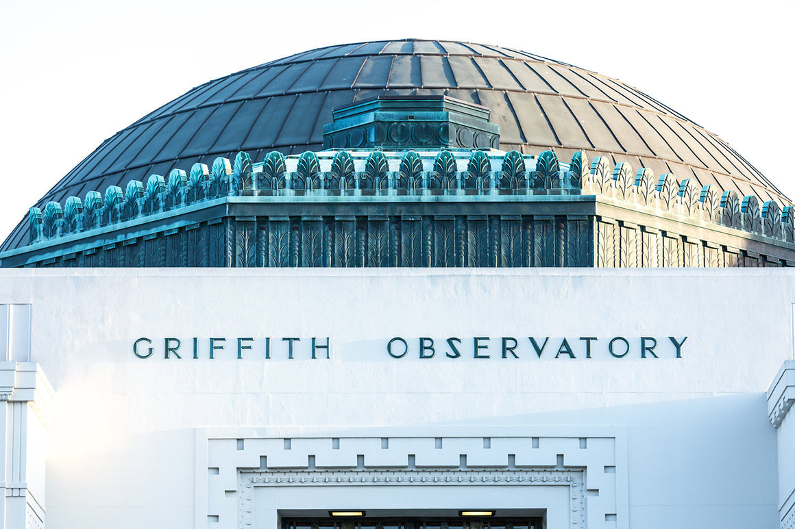 Los angeles photography, griffith observatory, Los Angeles decor, california photography, griffith park, art deco, architecture print, large
