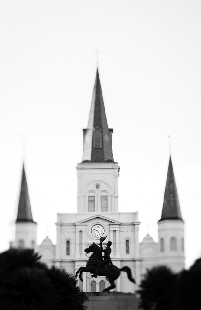 New Orleans black and white photography St Louis Cathedral french quarter art nola art new orleans decor louisiana large wall art prints