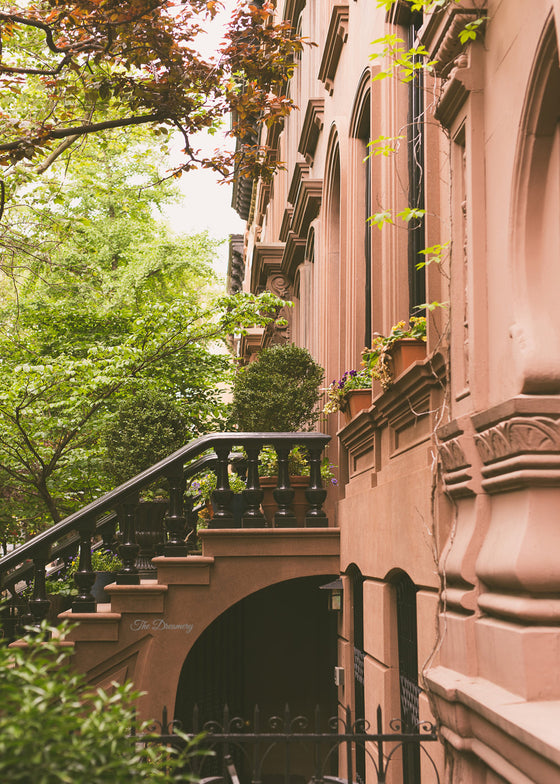 nyc photography west village new york city manhattan nyc decor city sex and the city brownstones greenwich village architecture elegant
