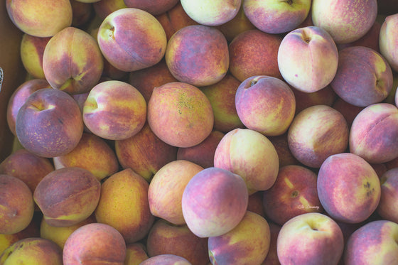 Kitchen art, rustic photography, peaches, food photography, rustic country decor large wall art canvas prints farmhouse decor rustic prints