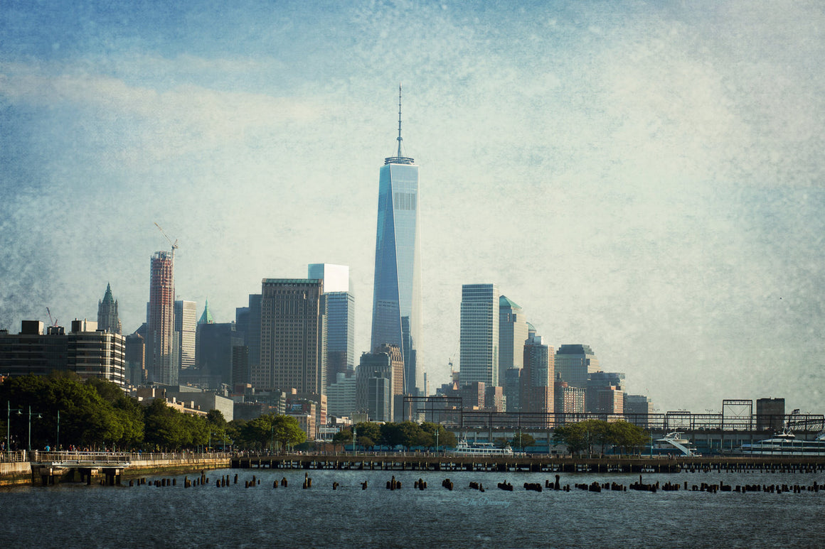 nyc photography chelsea one world trade center new york city decor nyc skyline piers loft decor large wall art  manhattan