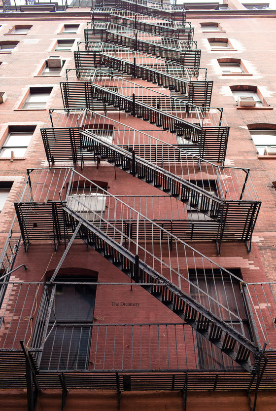 new york photography new york city decor nyc photography nyc fire escapes industrial art loft decor nyc decor apartment decor architecture