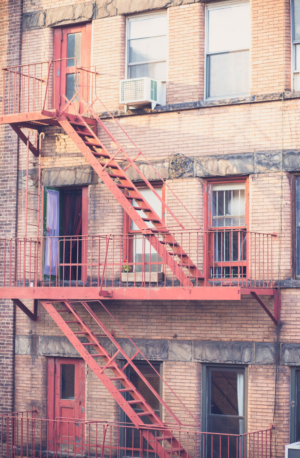 new york photograph new york city decor nyc photography nyc fire escapes industrial art loft decor nyc decor apartment decor architecture