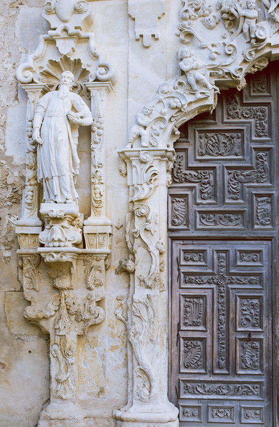 Texas photography, san antonio mission, mission san jose, texas decor, southwestern decor, door photography, san antonio photography spanish