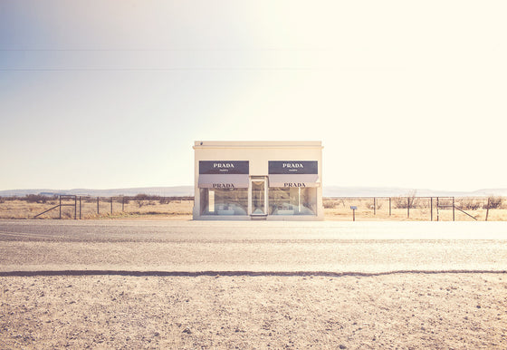 Texas photography, prada marfa, marfa photography, texas art, gifts for her, gifts for fashion lovers, texas home decor, west texas, large