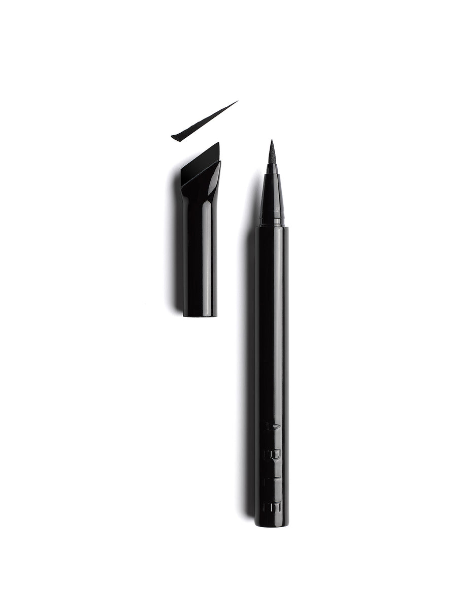 CatEye101 black long-lasting liquid eyeliner traceable rubber edge attached to lid