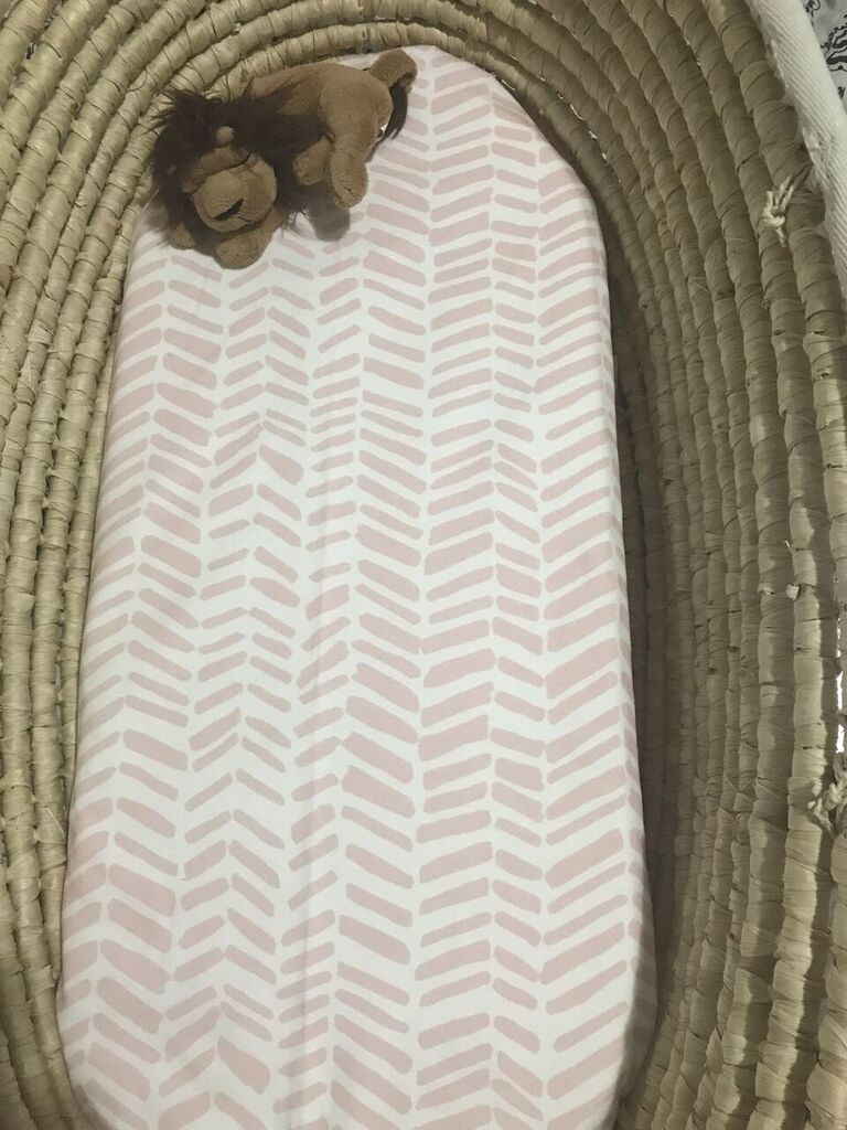 PINK IMPRESSIONS Organic Cotton Swaddle Blanket