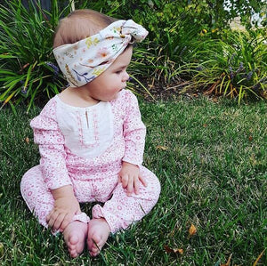BOHO BABY Organic Cotton Head Wrap