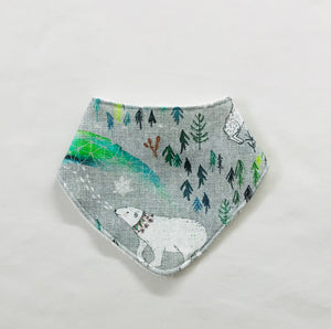 """Arctic Dreams"" Organic Cotton Slouch Bib"