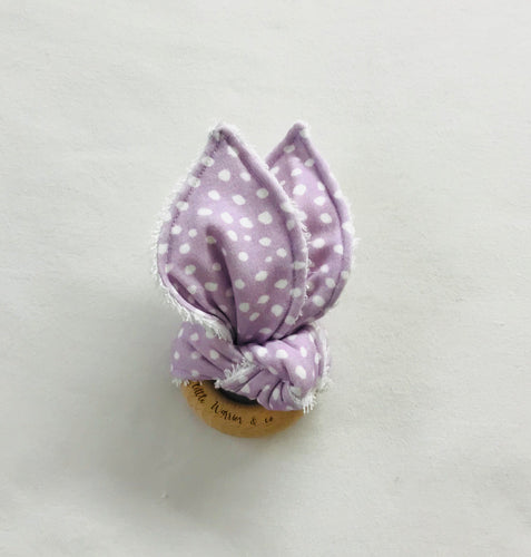 LAVENDER BLOSSOM Organic Cotton Fabric Teether