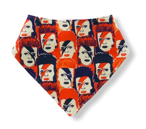 BOWIE ROCK Organic Cotton Dog Bandana Bib
