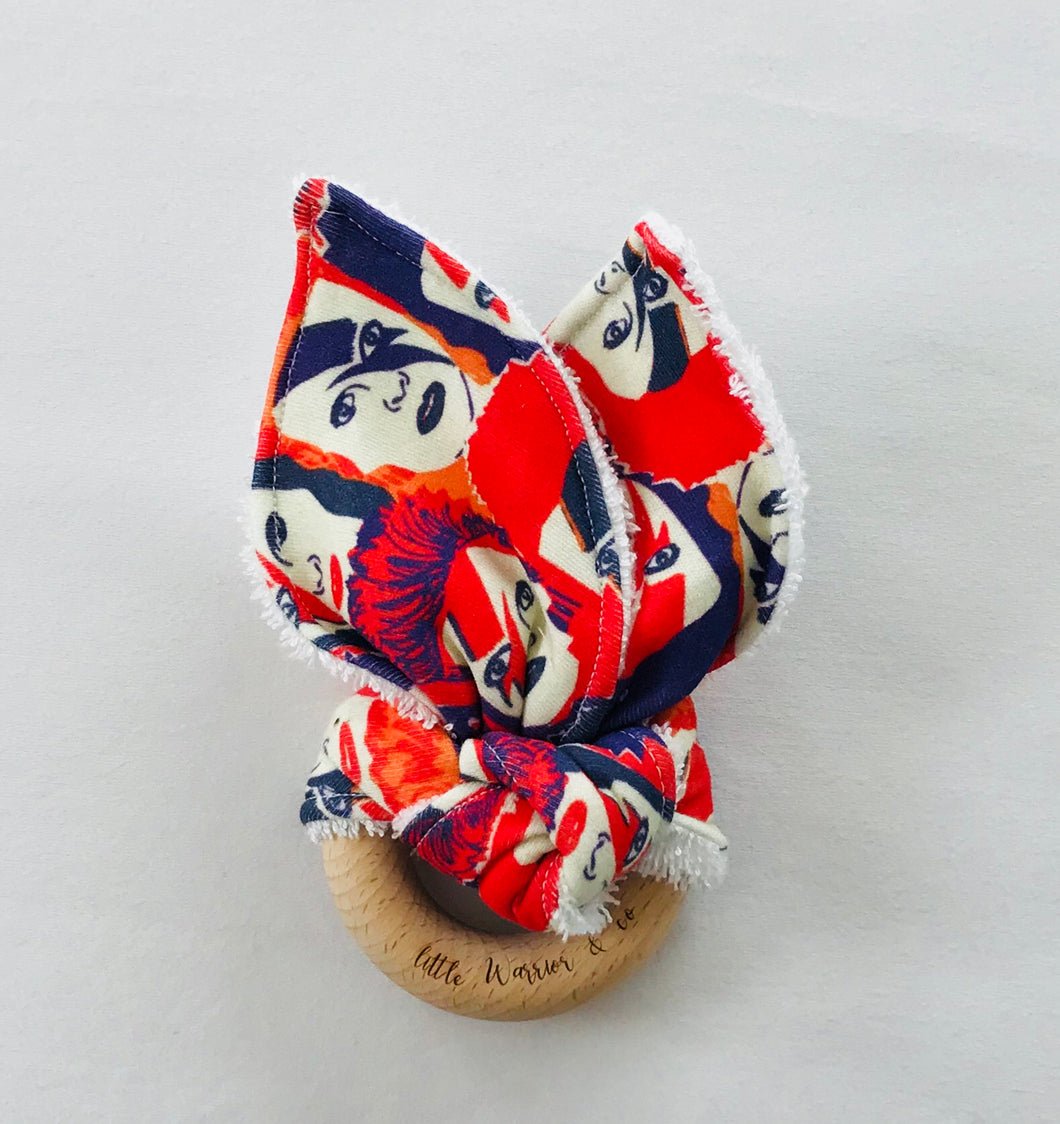 BOWIE ROCK Organic Cotton Fabric Teether