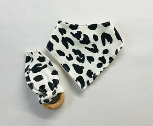 LEOPARD Organic Cotton Fabric Teether