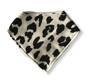 LEOPARD Organic Cotton Dog Bandana Bib