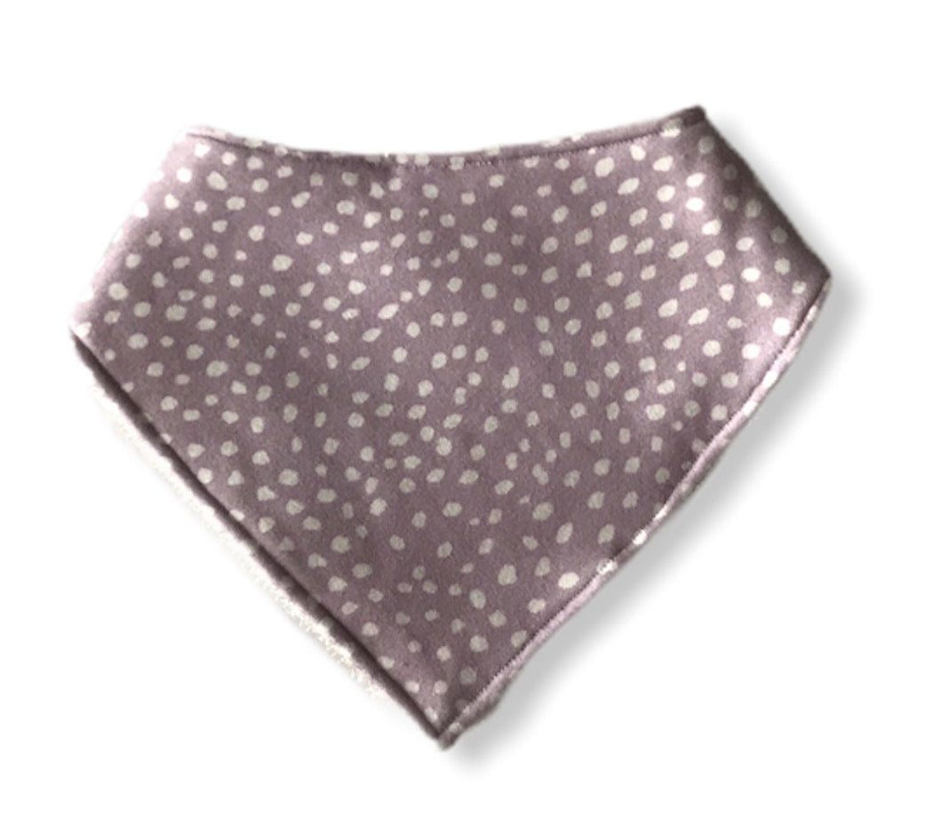 LAVENDER BLOSSOMS Organic Cotton Dog Bandana Bib