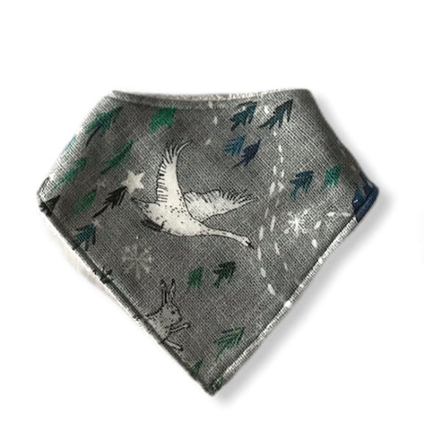 ARCTIC DREAMS Organic Cotton Dog Bandana Bib