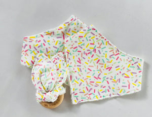 'Sprinkles' Organic Cotton Fabric Teether