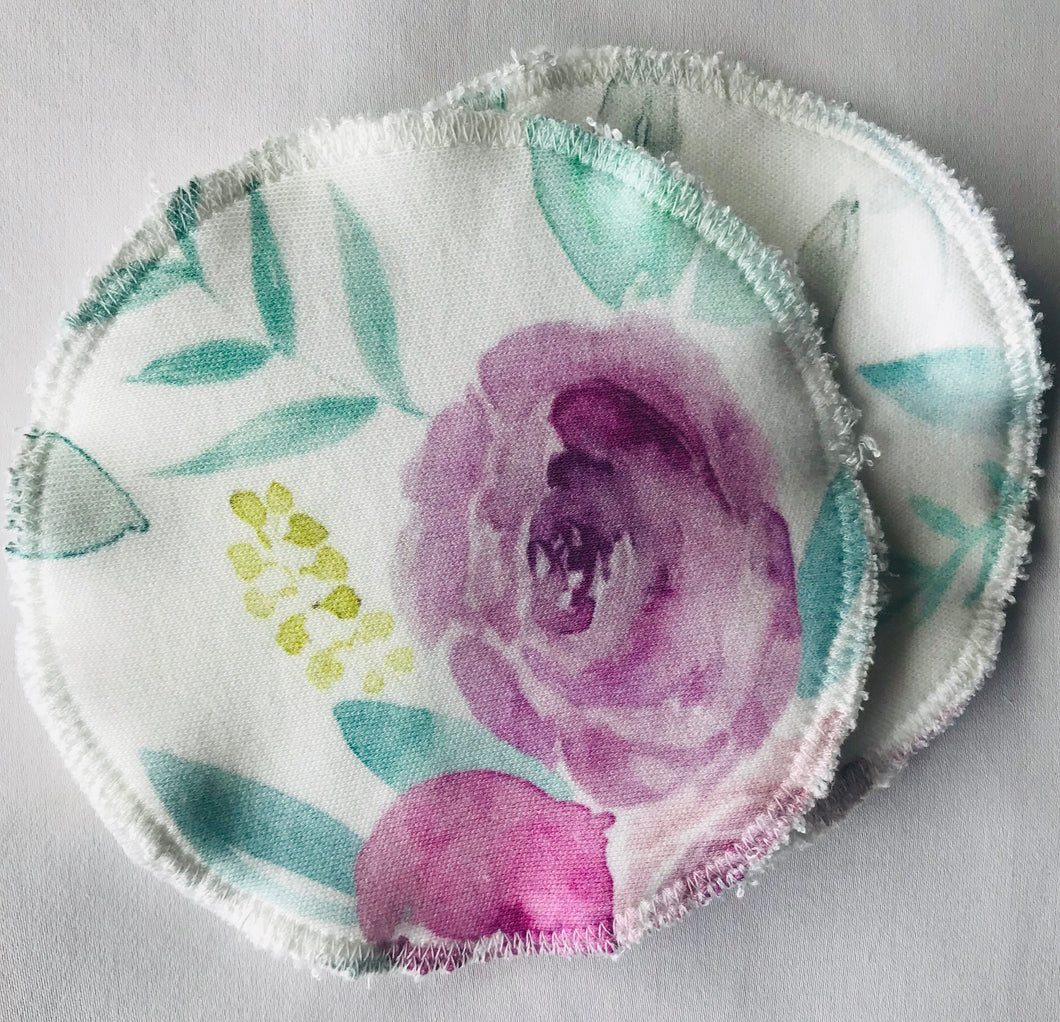 LILY ROSE Organic Cotton Reusable Nursing Pad Set