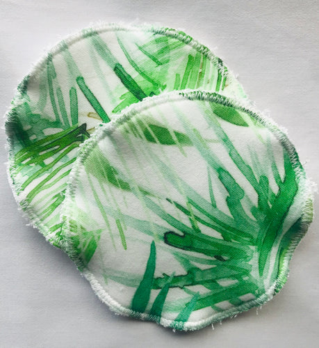 TROPICAL Organic Cotton Reusable Nursing Pad Set