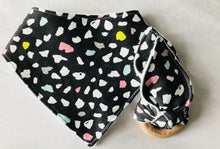 RAINBOW PANTHER Organic Cotton Fabric Teether