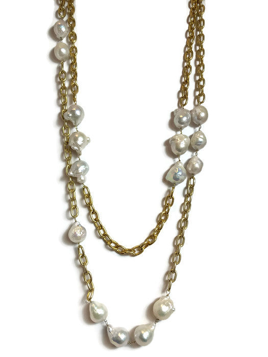 Ophelia Pearl Necklace