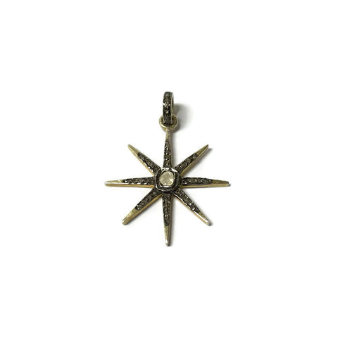 8 Point Star Pendant - Domaine Designs