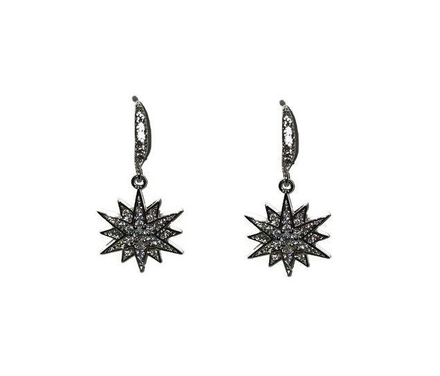 12 Point Star Earrings - Domaine Designs