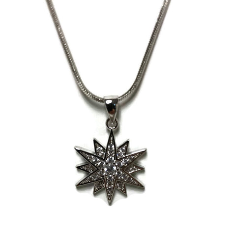 12 Point Star Necklace - Domaine Designs