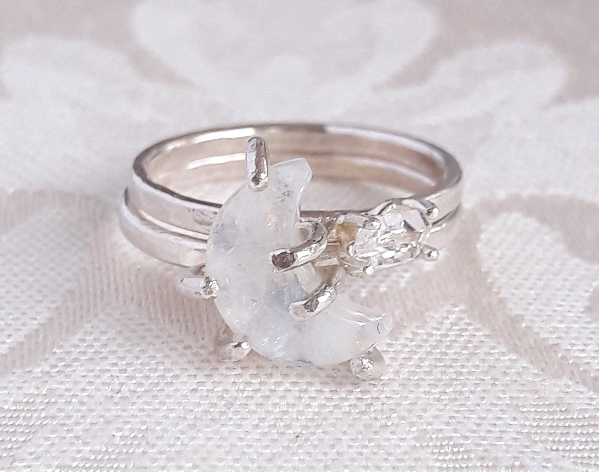 moon products jewellery the ring silver straits combinations stacking delicate rings fine finery sterling